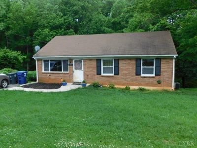 Lynchburg County Single Family Home For Sale: 1113 Ardmore Drive