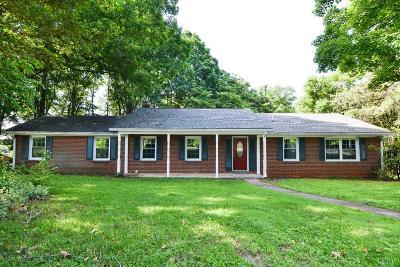 Altavista Single Family Home For Sale: 1939 Tabby Lane