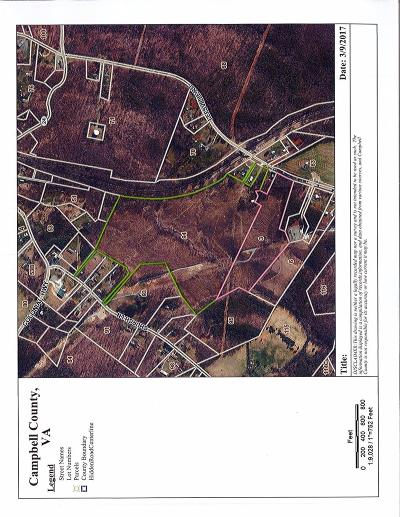 Campbell County, Bedford County, Amherst County, Nelson County, Appomattox County, Lynchburg County Residential Lots & Land For Sale: Leesville Road