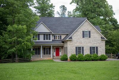 Lynchburg Single Family Home For Sale: 199 Irvington Springs Road