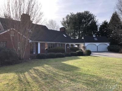 Lynchburg County Single Family Home For Sale: 3327 Dorchester Court