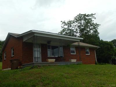 Altavista Single Family Home For Sale: 106 Frazier Road