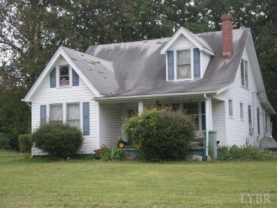 Altavista Single Family Home For Sale: 99999 Wards Road