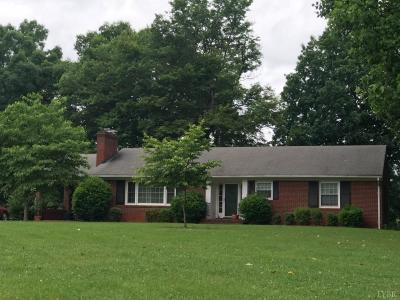 Amherst Single Family Home For Sale: 482 Waughs Ferry