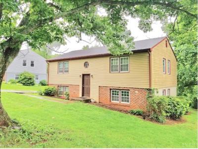 Lynchburg VA Single Family Home For Sale: $169,900