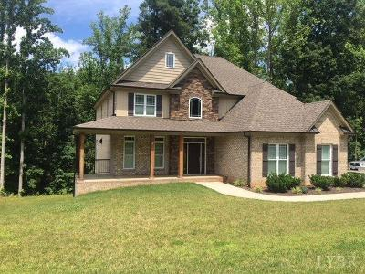 Lynchburg County Single Family Home For Sale: 1700 Wiggington Road