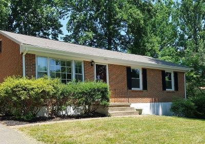 Lynchburg Single Family Home For Sale: 1310 Ashbourne Drive