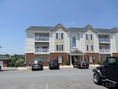 Forest, Lynchburg Condo/Townhouse For Sale: 102 Capstone Drive #101