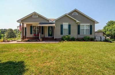Rustburg Single Family Home For Sale: 2384 Colonial Highway