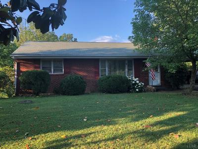 Bedford County Single Family Home For Sale: 10929 Lee Jackson Hwy