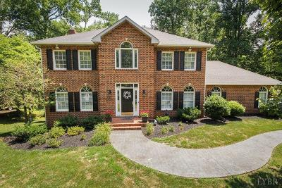 Lynchburg Single Family Home For Sale: 4740 John Scott Drive
