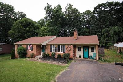 Lynchburg VA Single Family Home For Sale: $192,900