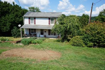 Bedford County Single Family Home For Sale: 1282 Mountain View Heights Road