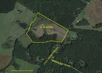 Appomattox County Residential Lots & Land For Sale: Lyle Thomas Road