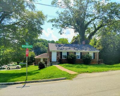 Lynchburg Multi Family Home For Sale: 1101 McCausland Avenue