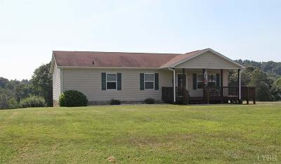 Bedford County Single Family Home For Sale: 2548 Big Island Highway