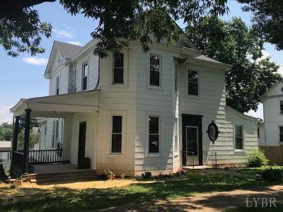 Lynchburg Multi Family Home For Sale: 614 Euclid Ave