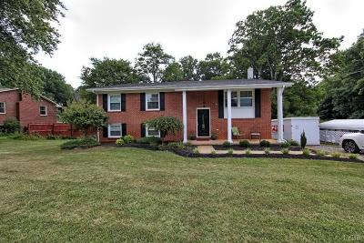 Lynchburg Single Family Home For Sale: 1211 Rainbow Forest Drive
