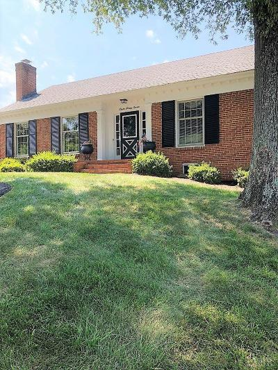 Lynchburg Single Family Home For Sale: 837 Ves Road