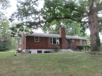 Lynchburg County Single Family Home For Sale: 3306 Daniel Avenue