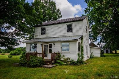 Campbell County Single Family Home For Sale: 1127 Hancock Road