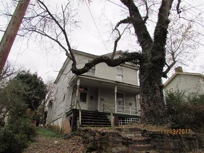 Lynchburg VA Single Family Home For Sale: $22,000