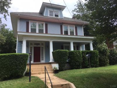 Lynchburg County Single Family Home For Sale: 208 Yeardley Avenue