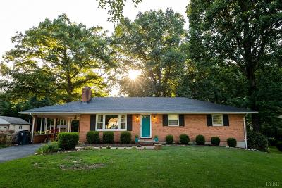Lynchburg Single Family Home For Sale: 166 Oakland Circle