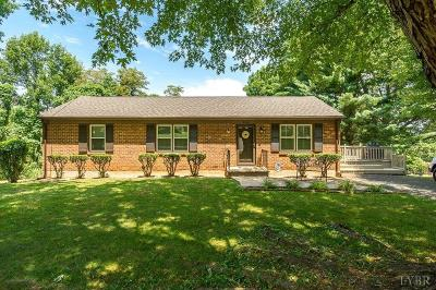 Lynchburg County Single Family Home For Sale: 106 Hillview Dr