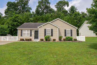 Lynchburg County Single Family Home For Sale: 130 Willard Way