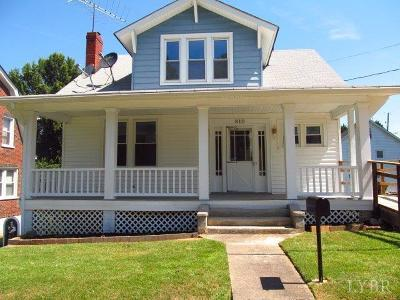 Lynchburg County Single Family Home For Sale: 810 Graham Street