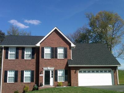 Evington, Rustburg, Lynchburg Single Family Home For Sale: 39 Traverse Drive