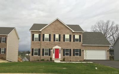 Evington, Rustburg, Lynchburg Single Family Home For Sale: 37 Traverse Drive