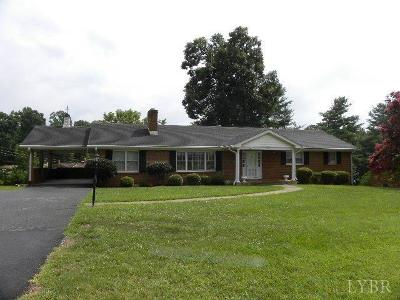 Lynchburg Single Family Home For Sale: 1429 Greenview Drive