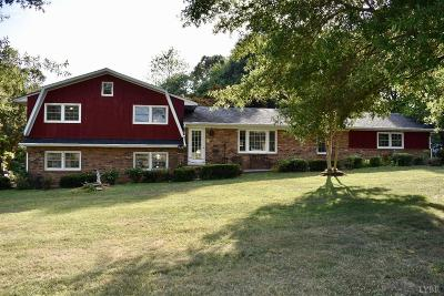 Campbell County Single Family Home For Sale: 14681 Brookneal Highway