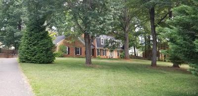 Lynchburg Single Family Home For Sale: 858 Farfields Drive