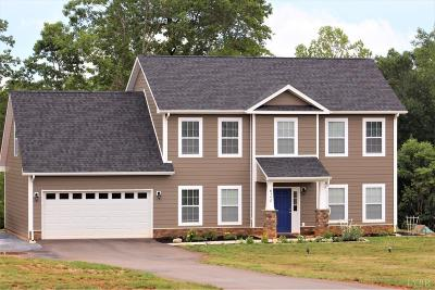 Rustburg Single Family Home For Sale: 624 Carriage Parkway