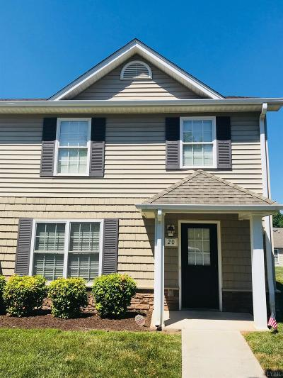 Campbell County Condo/Townhouse For Sale: 20 Lawton Circle