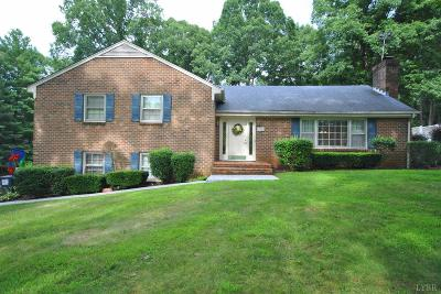 Lynchburg Single Family Home For Sale: 278 Wildwood Road
