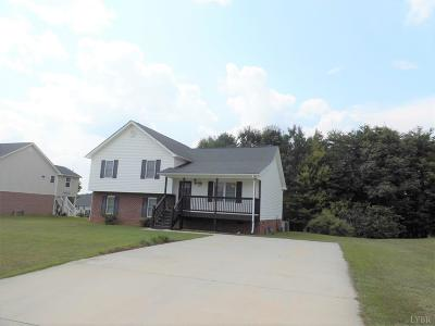 Evington, Rustburg, Lynchburg Single Family Home For Sale: 65 Brenna Lane