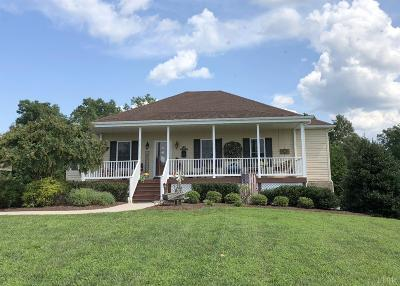 Rustburg Single Family Home For Sale: 416 Valley Drive
