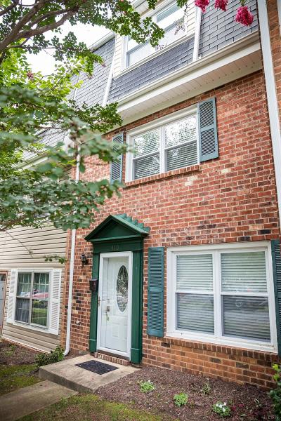 Lynchburg Condo/Townhouse For Sale: 410 West Cadbury Drive