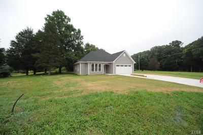 Lynchburg County Single Family Home For Sale: 1014 Wiggington Road
