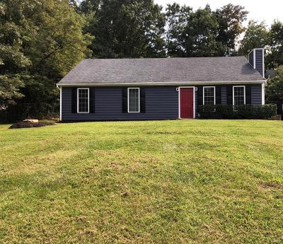 Lynchburg Single Family Home For Sale: 1507 McVeigh Road