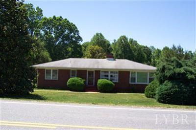 Amherst County Single Family Home For Sale: 2618 Richmond Hwy.