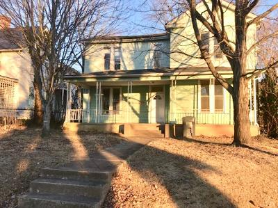 Single Family Home For Sale: 615 North Street