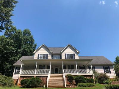 Goode Single Family Home For Sale: 1151 Roaring Run Road
