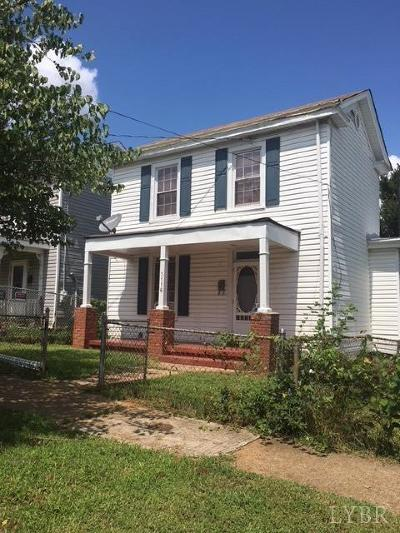 Lynchburg Single Family Home For Sale: 1116 Bedford Avenue