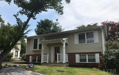 Lynchburg Single Family Home For Sale: 6229 Pawtucket Drive