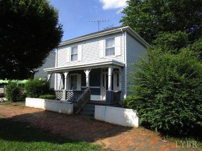 Lynchburg Single Family Home For Sale: 1316 Wise Street